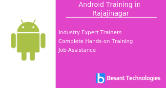 Android Training in Rajajinagar