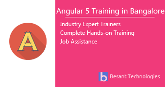 Angular 5 Training in Bangalore
