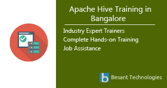 Apache Hive Training in Bangalore