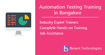 Automation Testing Training in Bangalore
