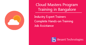 Cloud Masters Program Training in Bangalore