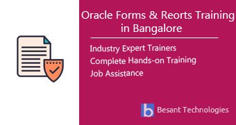 Oracle Forms & Reports Training in Bangalore