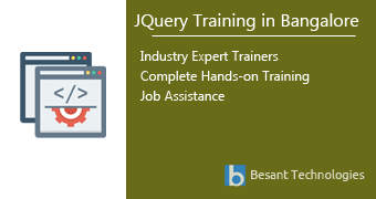 JQuery Training in Bangalore