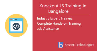 Knockout JS Training in Bangalore