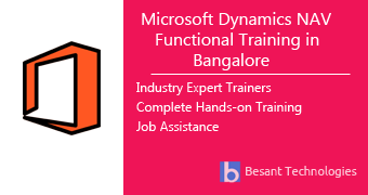 Microsoft Dynamics NAV Functional Training in Bangalore