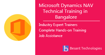 Microsoft Dynamics NAV Technical Training in Bangalore