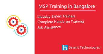 MSP Training in Bangalore