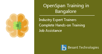 OpenSpan Training in Bangalore