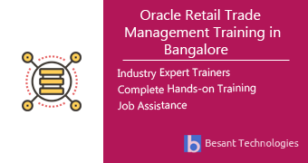 Oracle Retail Trade Management Training in Bangalore