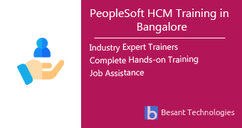 PeopleSoft HCM Training in Bangalore