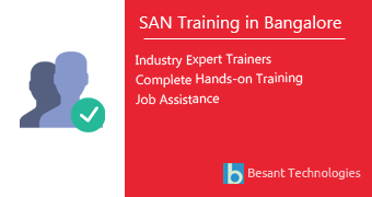 SAN Training in Bangalore