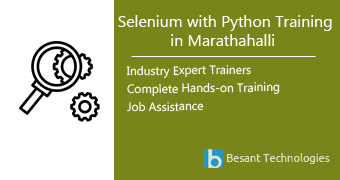 Selenium with Python Training in Marathahalli