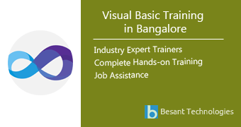 Visual Basic Training in Bangalore